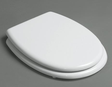 KSTZ0001 Toiletzitting Wit / Chrome voor KSTA serie -0