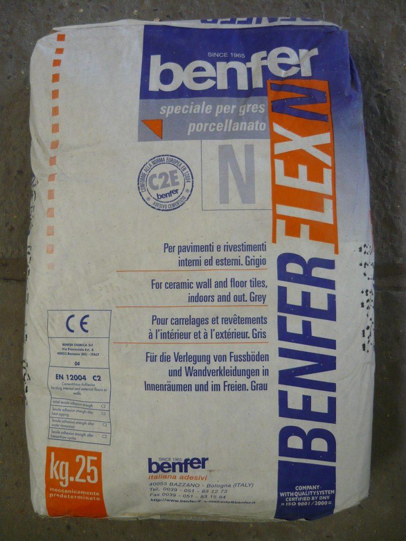 Benfer Flexn Grijs 25kg-0