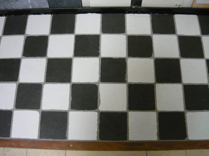 15x15 zwart wit getrommeld -0