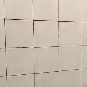 Spaanse witjes 13x13 cm mat crema-0