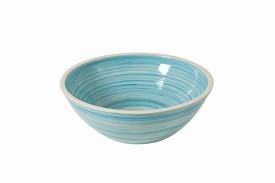 Porseleinen opzetkom Ocean blue -0