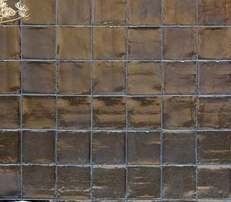 Wandtegel Villa Gold 13x13 handvorm -0