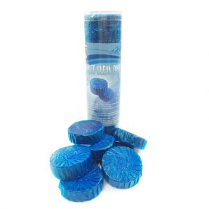 set à 12 stuks toiletblokjes blauw tbv Geberit-0