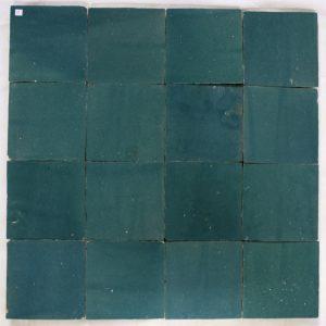Zelliges 015 tegels Marokkaanse tegels 10x10 handgekapt op=op-0