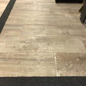 Keramisch parket / Houtlook tegels licht bruin 100x25-0