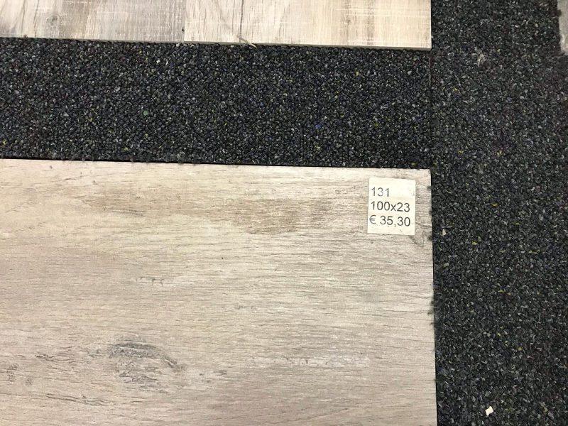 Keramisch parket / Houtlook tegels licht grijs 100x23-6875