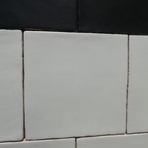 15x15 handvorm mat wit -0