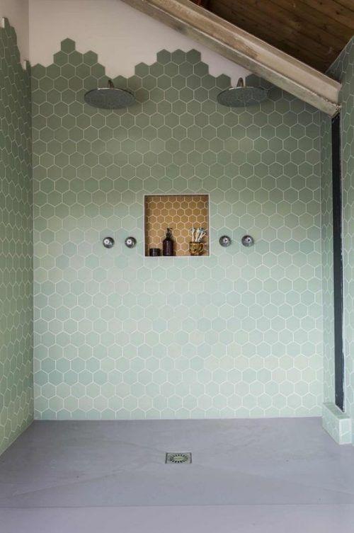 Hexagoon Bettina Green 14 x 16-6954